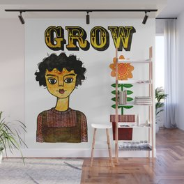 Grow Large Wall Mural