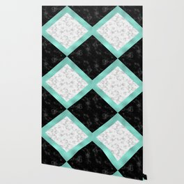 Mint marble Wallpaper