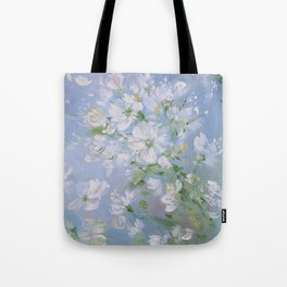 Sweet Wild Roses Tote Bag