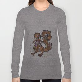 Zombie Squirrel Long Sleeve T-shirt