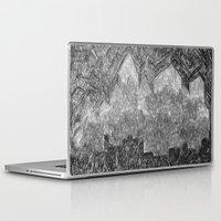 return Laptop & iPad Skins featuring return 2 by Barbara R.