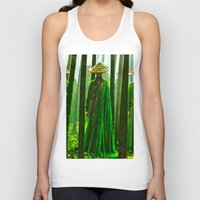 china Tank Tops featuring China  by Saundra Myles