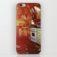 kitchen iPhone & iPod Skins featuring kitchen by TriReeval