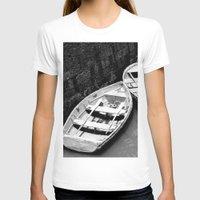 boats T-shirts featuring Boats by Vishal Wadhwani