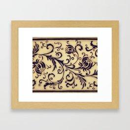 Oriental dream #7 Framed Art Print