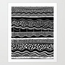 ABIODUN Art Print