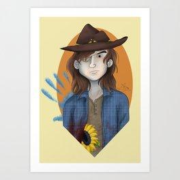 Carl Grimes - Honor Art Print