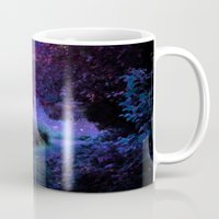 fantasy Mugs featuring Fantasy Path Purple by 2sweet4words Designs