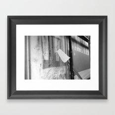 Rivington St Framed Art Print