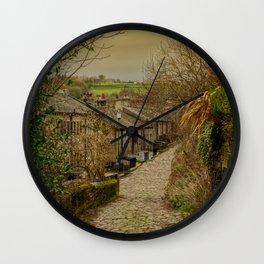 Yorkshire Cobbles Wall Clock