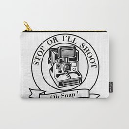 Saying Photographer Photographer Image Humor Gift Carry-All Pouch