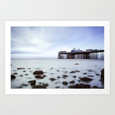 Llandudno Pier Art Print