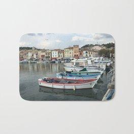 Italian Row Boats Bath Mat