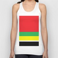 marley Tank Tops featuring Marley bars by ivette mancilla