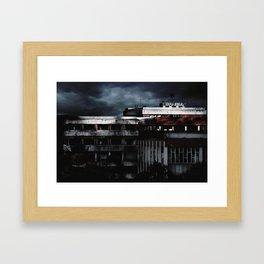 Hospital Abandonado. (Artxanda) Framed Art Print