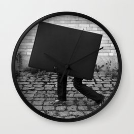 Case with legs Wall Clock