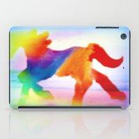 sea horse iPad Cases featuring Sea Horse by Laura Santeler