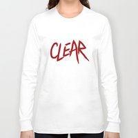 clear Long Sleeve T-shirts featuring .: CLEAR :. by Frankie White