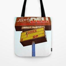 Sandwich shop sign Tote Bag