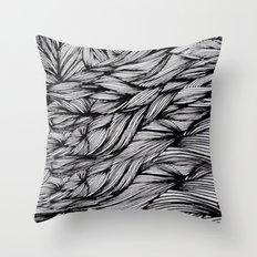 Man inside Throw Pillow