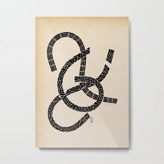 - lovers - Metal Print