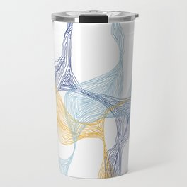 Lost in Lines [WHITE] Travel Mug
