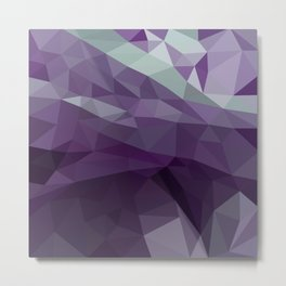 Purple Vectors Metal Print