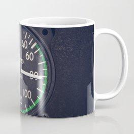 Air Speed Gauge Coffee Mug