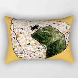Onigiri Snooze Rectangular Pillow