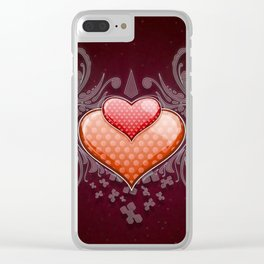 Heart2 Clear iPhone Case