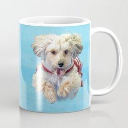 Penny the Yorkipoo Midair Coffee Mug