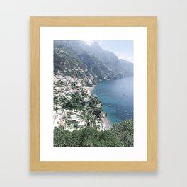 Italian Coast Framed Art Print