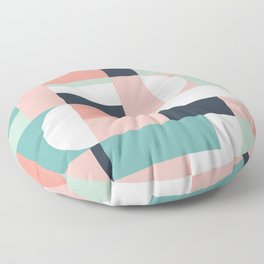 Abstract Geometric 08 Floor Pillow