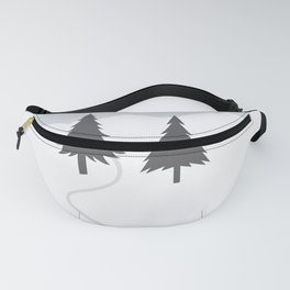 One Fine Winter Day Fanny Pack