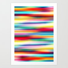 Blurry Cool Art Print