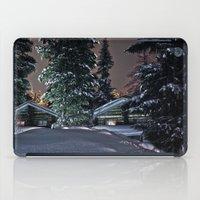 finland iPad Cases featuring Winter in Lapland Finland  by Guna Andersone & Mario Raats - G&M Studi