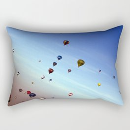 up up and away Rectangular Pillow