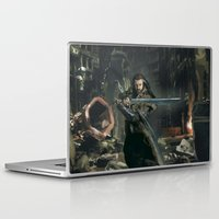 thorin Laptop & iPad Skins featuring Thorin 02 by PrintsofErebor