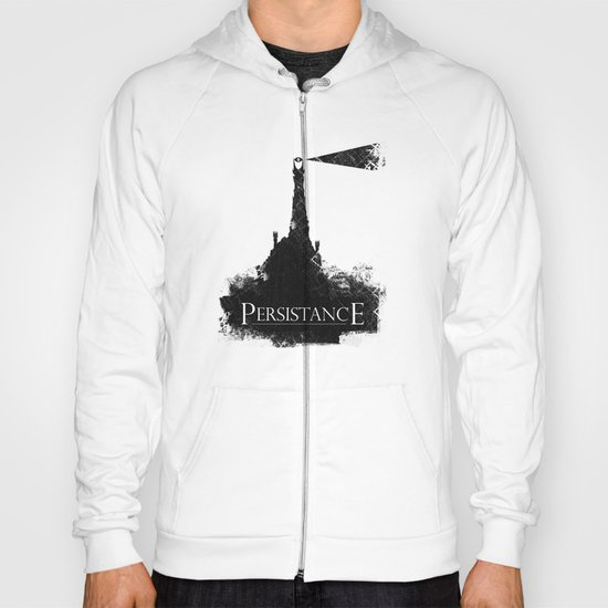 Lord of the Rings Motivational Poster - Persistance Hoody