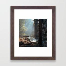 Kings Canyon Framed Art Print