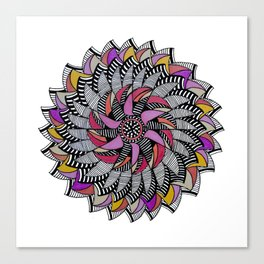 Mandala 009 Canvas Print