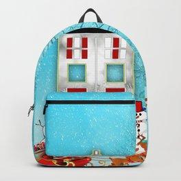 Tardis Santa Backpack