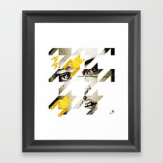 Maze Hound Framed Art Print