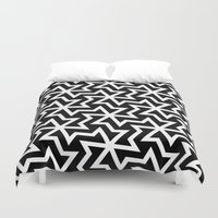 arabic Duvet Covers featuring Arabic by Patterns and Textures