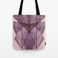 glass Tote Bags featuring Glass by La Señora