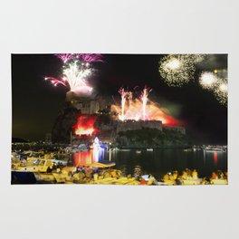 A Firework Explosion! - Ischia Landscape Rug