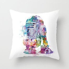R2-D2 Throw Pillow