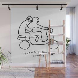 Vietnam racing couple Wall Mural