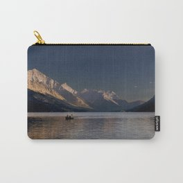 Sunset Over Waterton Lakes National Park Carry-All Pouch
