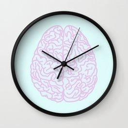 Pastel Brain Wall Clock